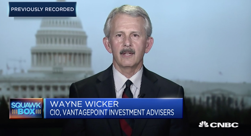 Wayne Wicker, SVP & Chief Investment Officer appears on CNBC's Squawk Box
